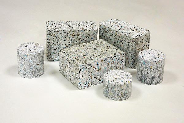 Brikety z papíru