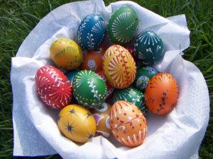 jak ozdobit vajíčka