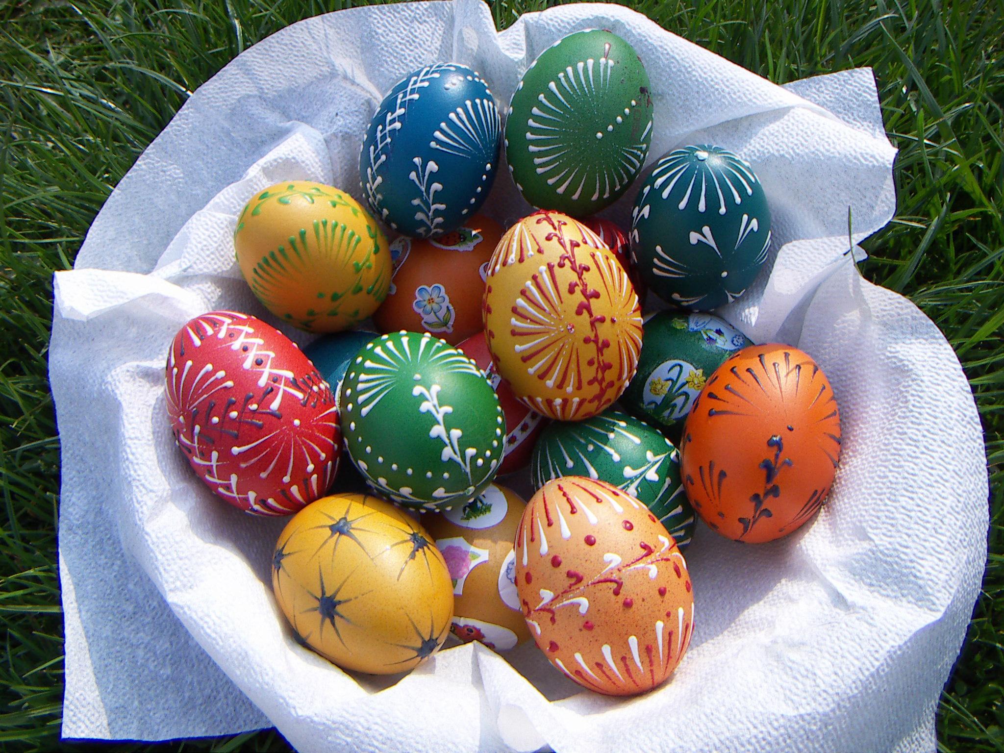 Velikonoční Vajíčko – Barvení