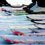 Příprava a mazání lyží